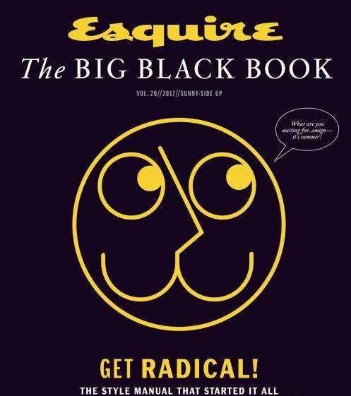 Esquire USA The Big Black Book Spring-Summer 2017