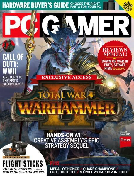 PC Gamer USA — Issue 294 — August 2017