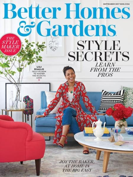 Better Homes And Gardens USA — September 2017