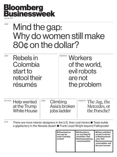 Bloomberg Businessweek USA — June 26 — July 2, 2017