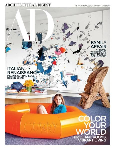 Architectural Digest USA — August 2017