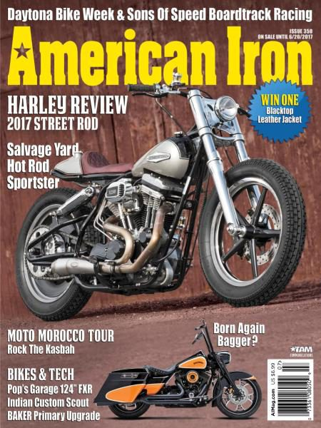 American Iron Magazine – Issue 350 2017
