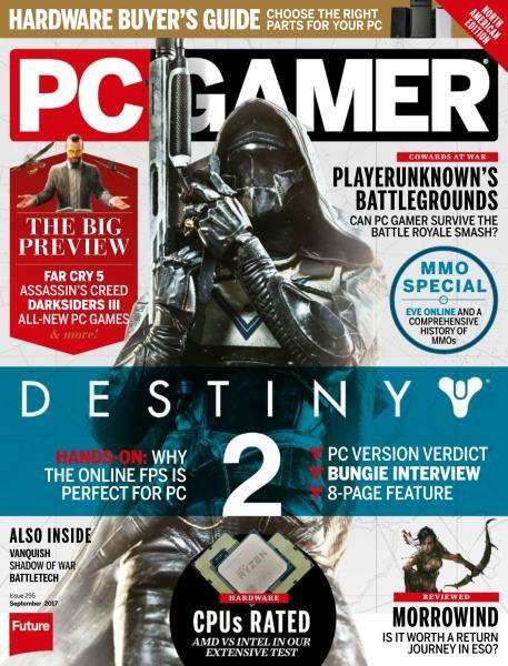 PC Gamer USA — Issue 295 — September 2017