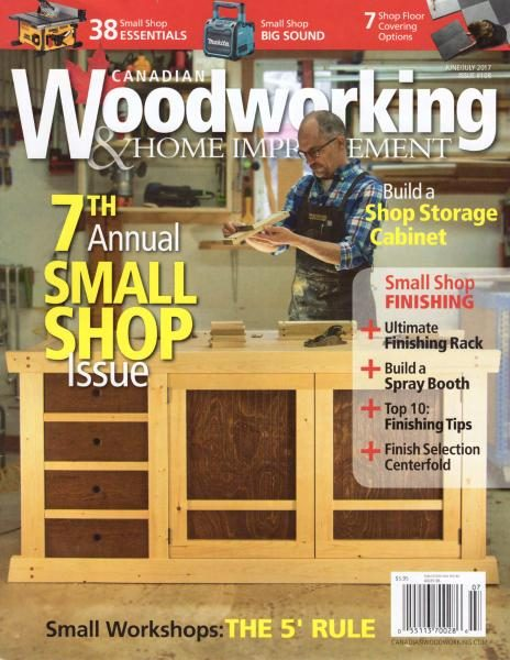 Canadian Woodworkng — June-July 2017