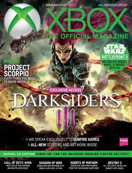 Official Xbox Magazine USA — Issue 203 — August 2017