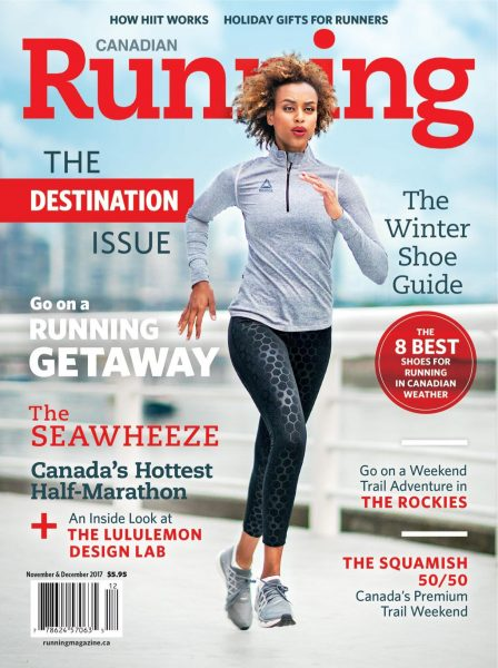 Canadian Running — November-December 2017