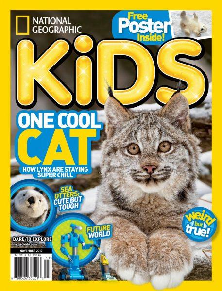 National Geographic Kids USA — November 2017