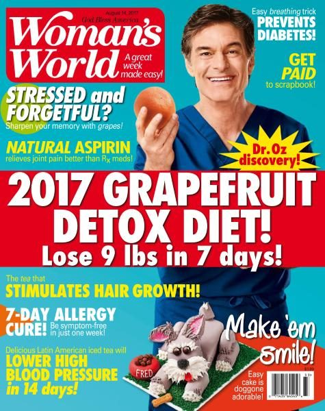 Woman's World USA — August 14, 2017