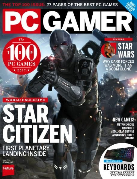 PC Gamer USA — Issue 296 — October 2017