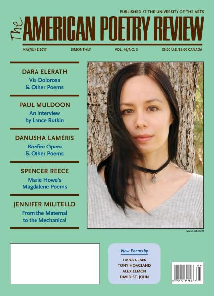 The American Poetry Review — May-June 2017