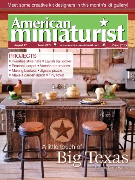 American Miniaturist — August 2017