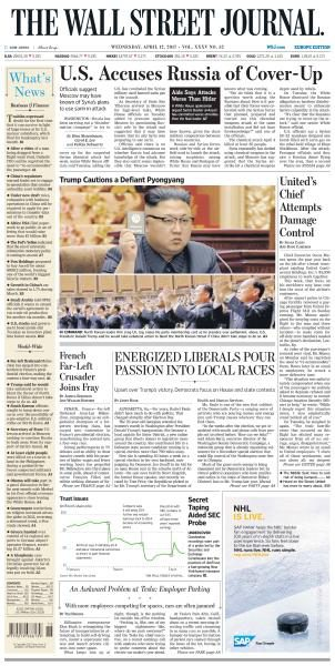 The Wall Street Journal Europe – April 12, 2017