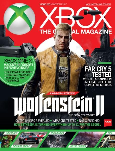 Official Xbox Magazine USA — Issue 206 — November 2017