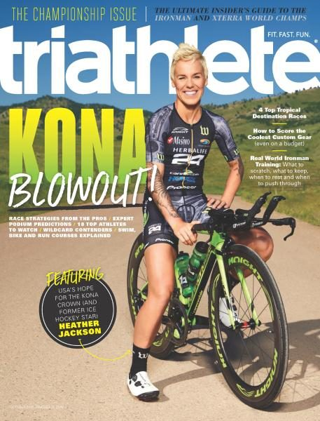 Triathlete USA — October 2017