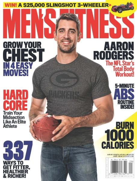 Men's Fitness USA — September 2017