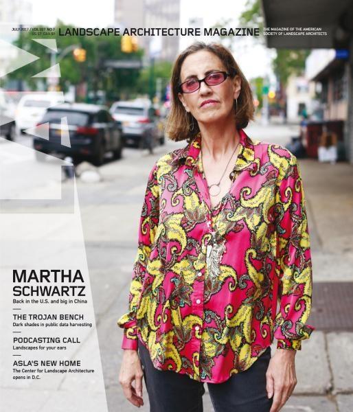 Landscape Architecture Magazine USA — July 2017