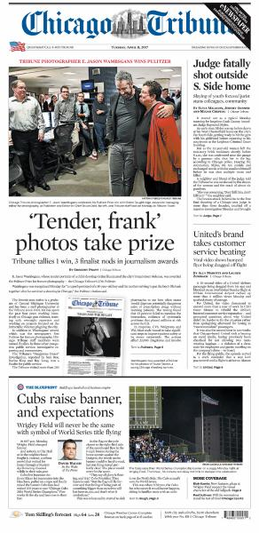 Chicago Tribune – April 11, 2017