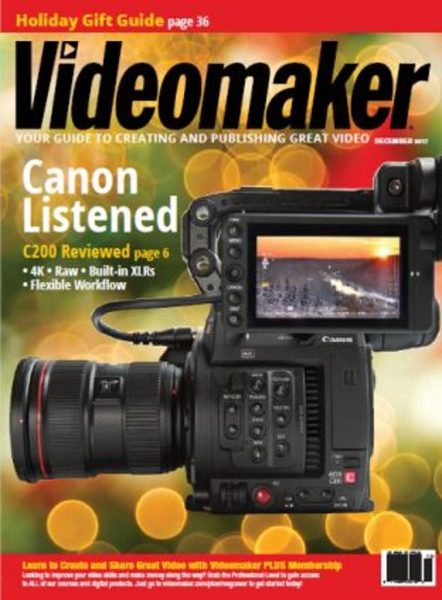 Videomaker — USA — December 2017