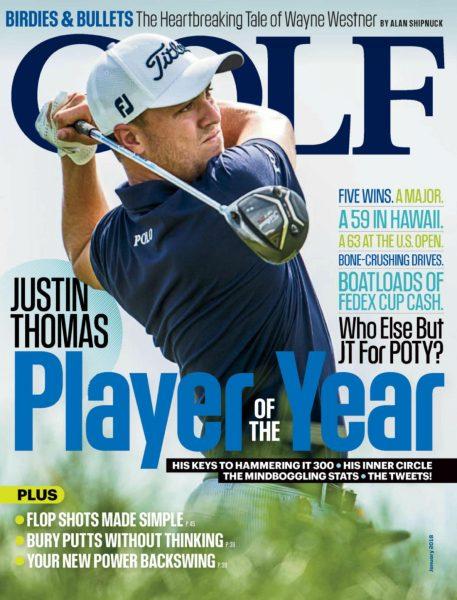 Golf Magazine USA — January 2018