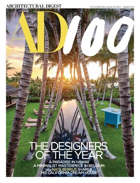 Architectural Digest USA — January 2018