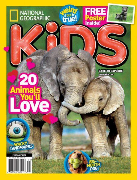 National Geographic Kids USA — February 2018