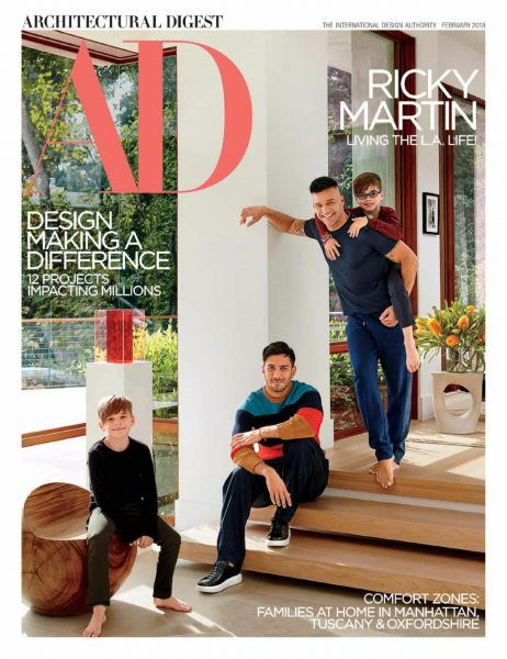 Architectural Digest USA — February 2018