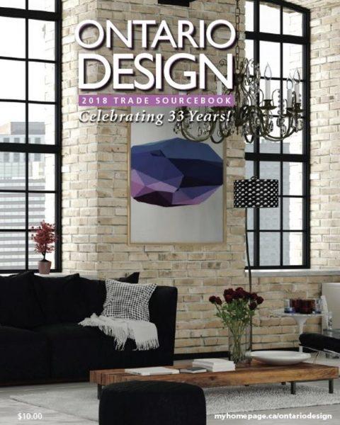Ontario Design — Trade Sourcebook 2018