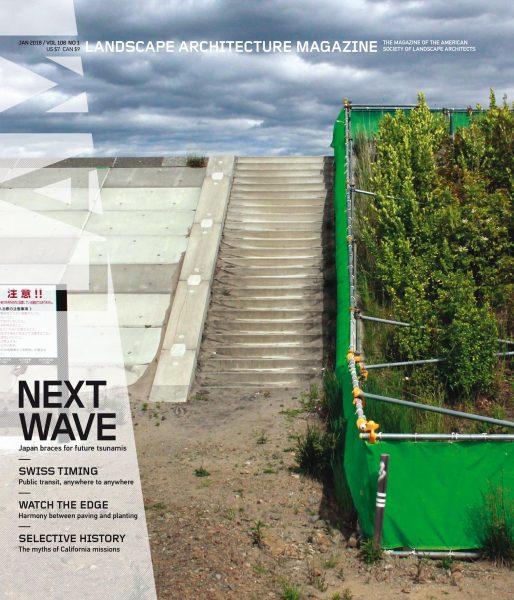 Landscape Architecture Magazine USA — January 2018