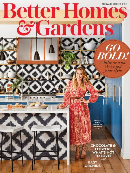 Better Homes & Gardens USA — February 2018