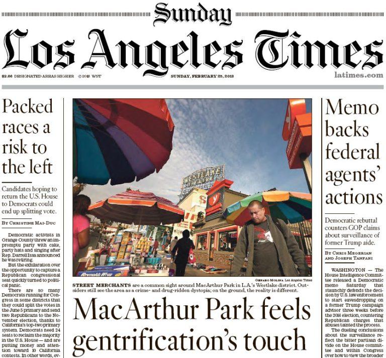 Los Angeles Times: 25.02.2018 Magazine True PDF
