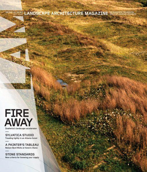 Landscape Architecture Magazine USA — February 2018