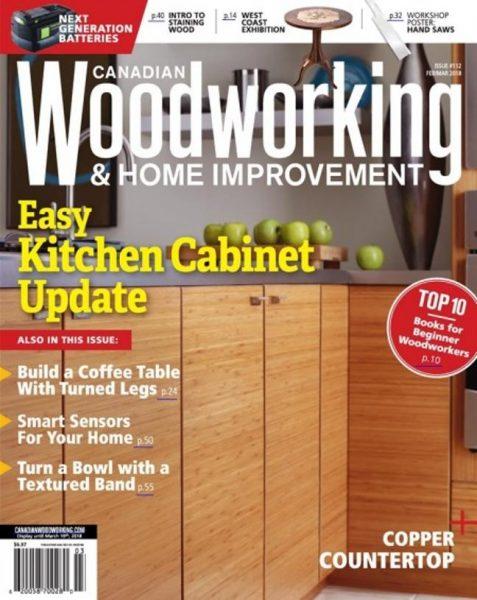 Canadian Woodworking — Feburuary-March 2018