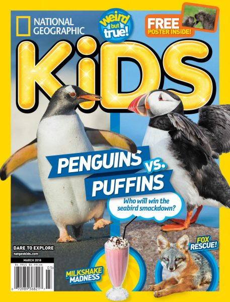 National Geographic Kids USA — March 2018
