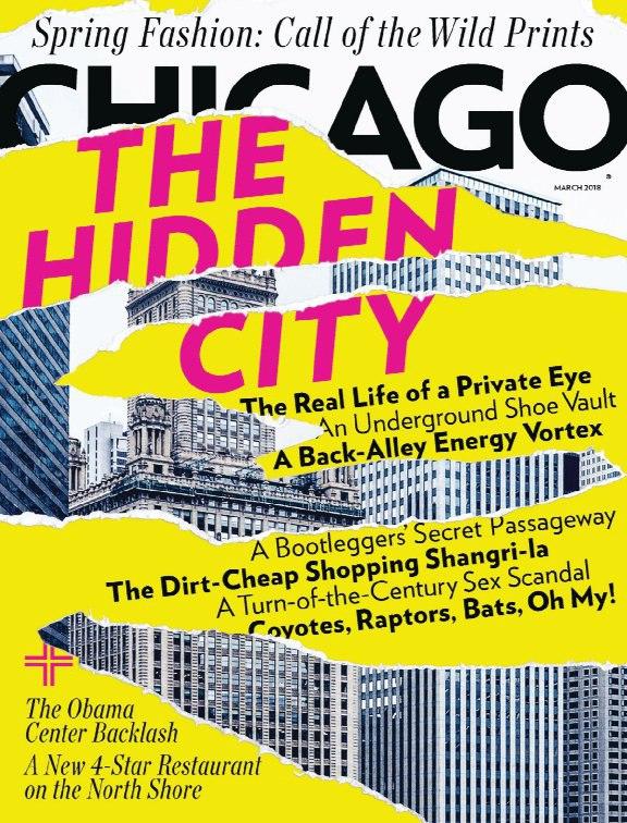 Chicago Magazine – March 2018