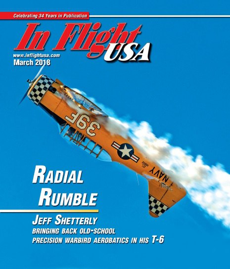 In Flight USA – March 2018