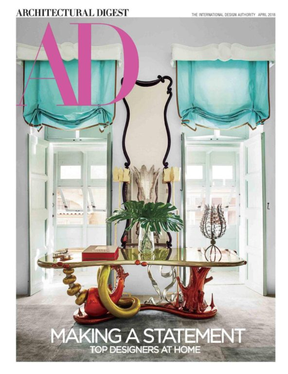 Architectural Digest USA – April 2018