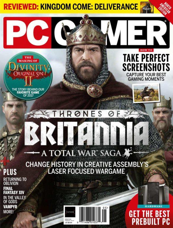 PC Gamer USA – May 2018