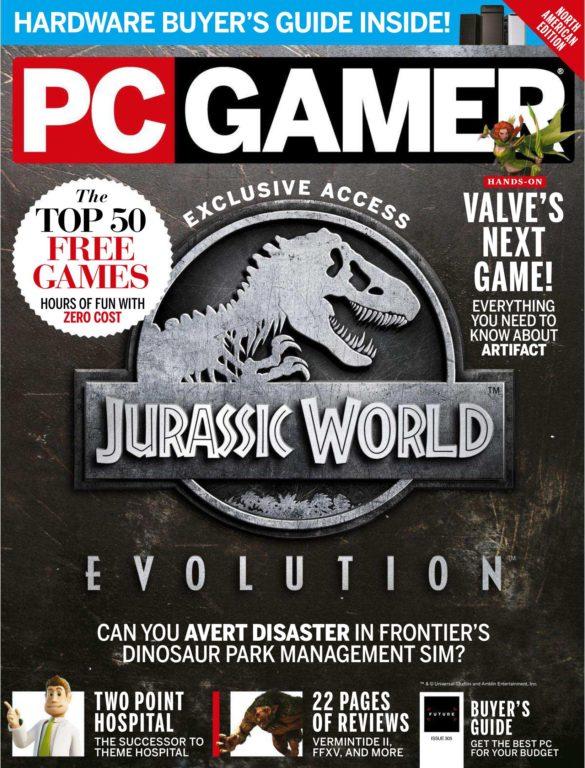 PC Gamer USA – June 2018