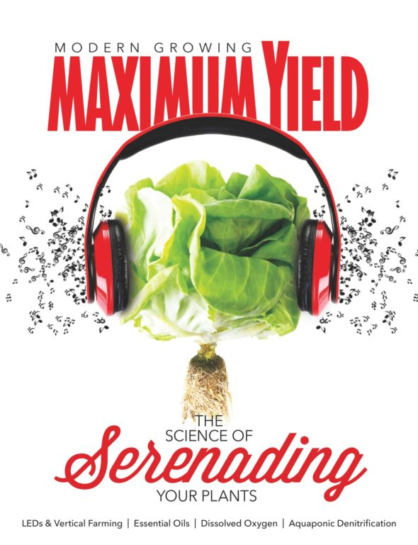 Maximum Yield Modern Growing USA – April 2018