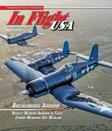 In Flight USA – April 2018