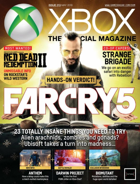 Official Xbox Magazine USA – May 2018