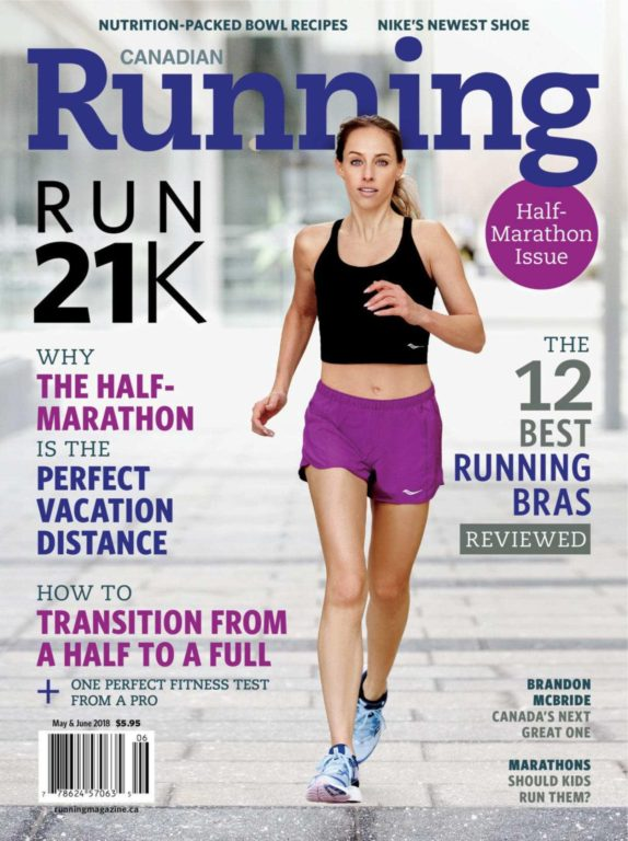 Canadian Running – May-June 2018