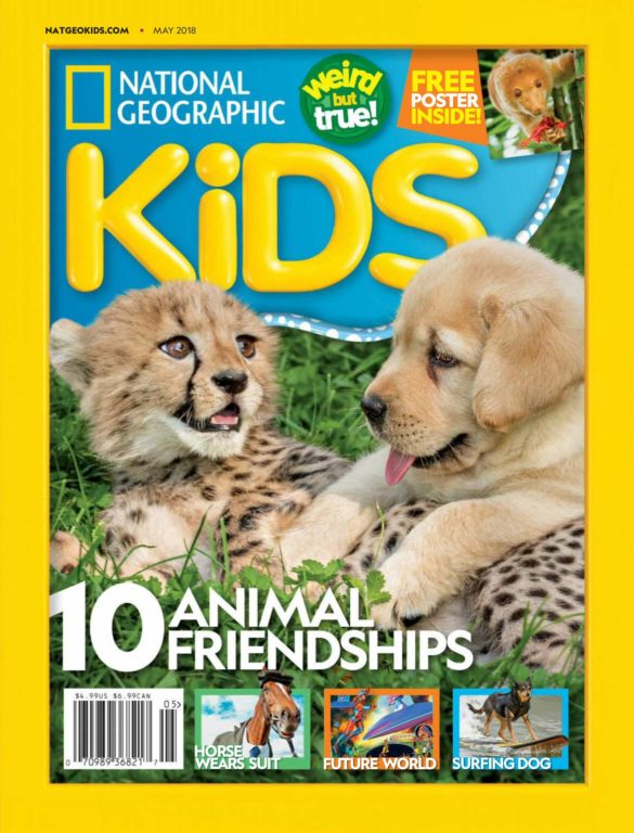 National Geographic Kids USA – May 2018
