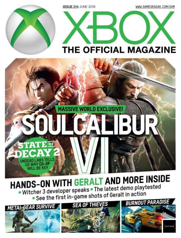 Official Xbox Magazine USA – June 2018