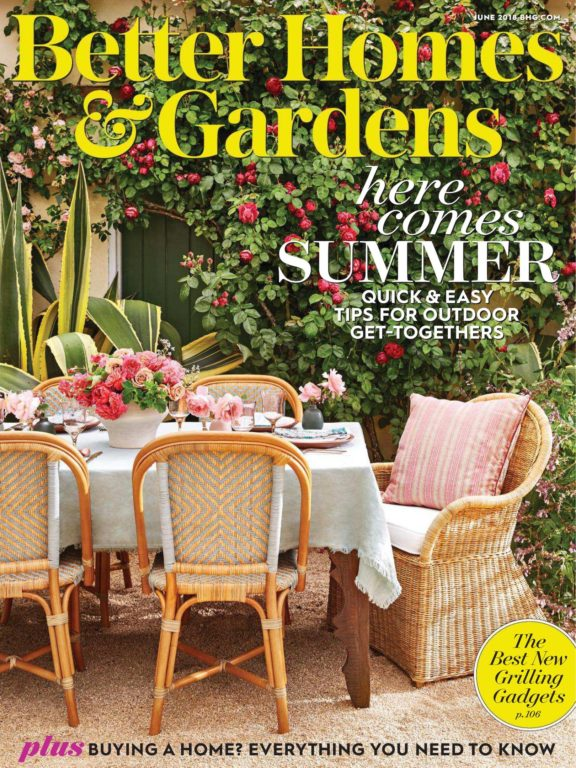 Better Homes & Gardens USA – June 2018