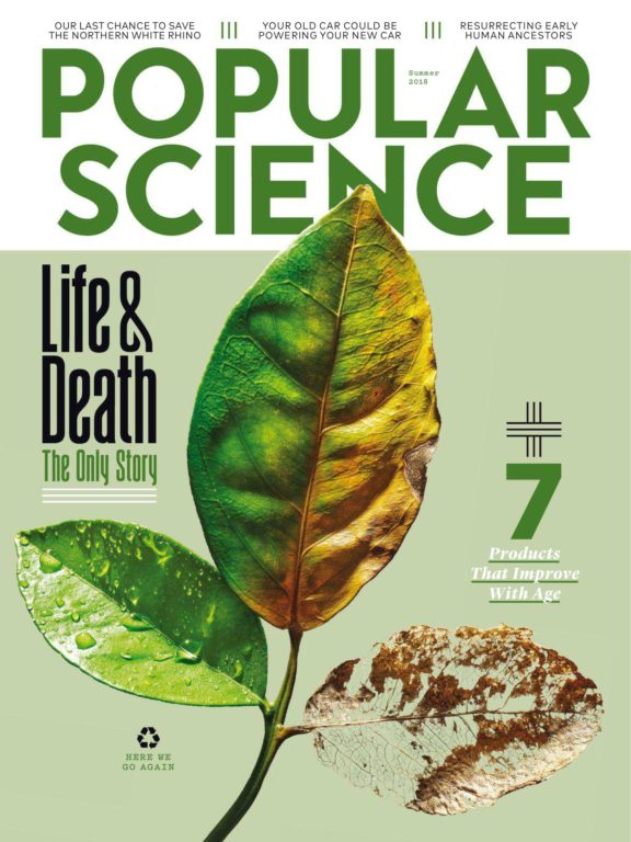 Popular Science USA – April-May 2018