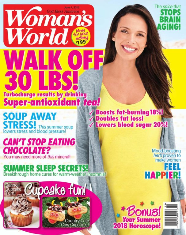 Woman's World USA – June 04, 2018