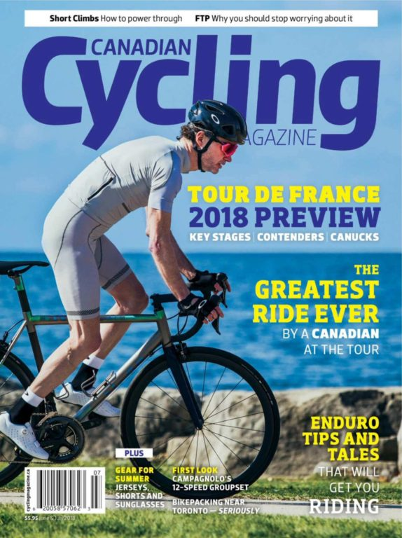 Canadian Cycling – June-July 2018