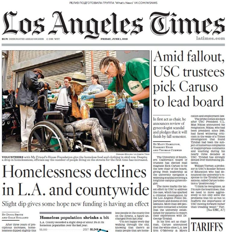 Los Angeles Times – 01.06.2018