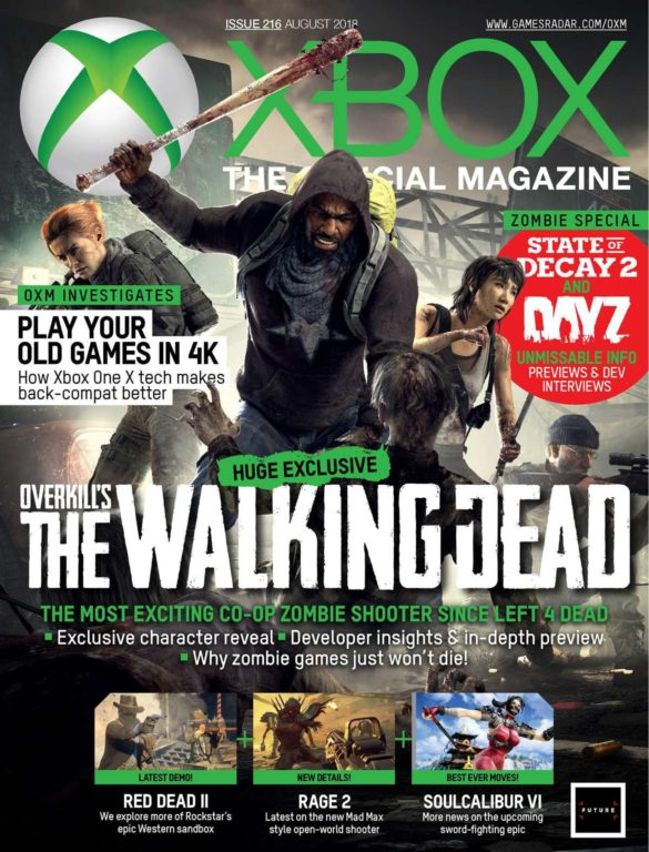 Official Xbox Magazine USA – August 2018
